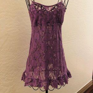 Victoria's Secret Purple Lingerie Medium